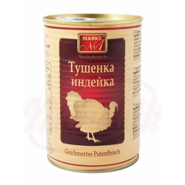 Carne de pavo estofada - Polonia