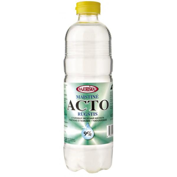 Ácido acético Acto 9 1000 ml - Lituania