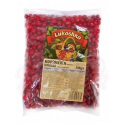 Bayas rojas congeladas Klukva 500g