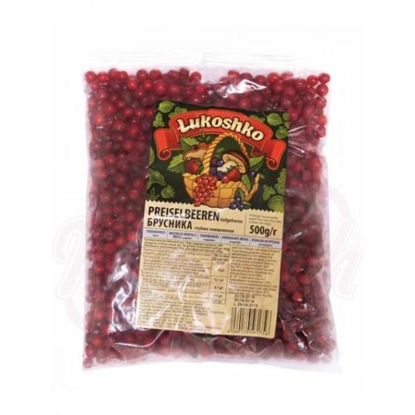 Arandanos rojos congelados Brusnika Monolith 500g - Frutas