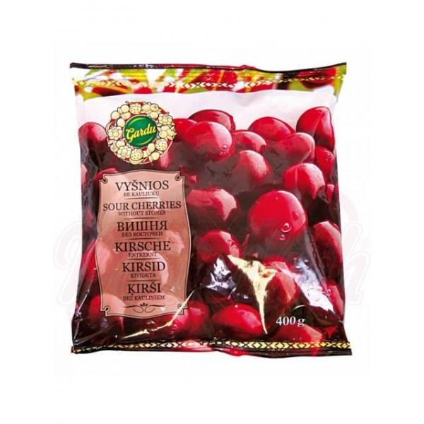 Cerezas deshuesadas congeladas Gardu 400g - Frutas