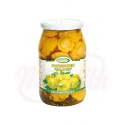 Calabacines marinados de Oro Zakuska 860 g