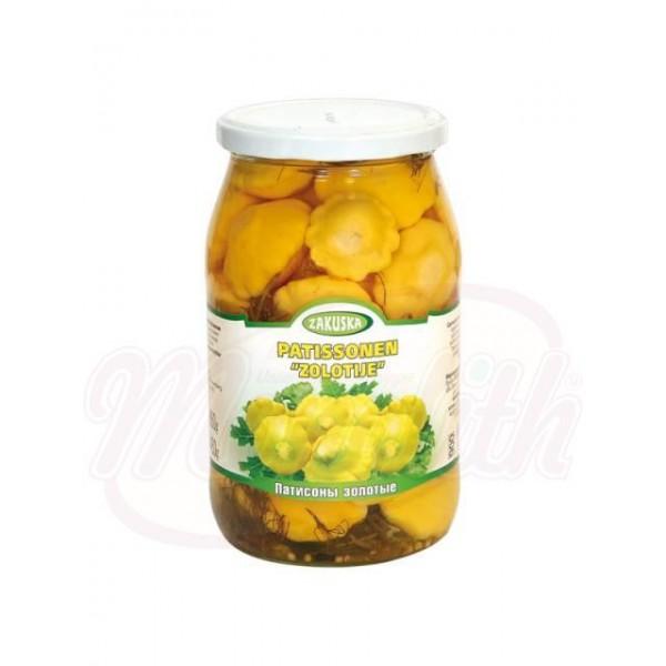 Calabacines marinados de Oro Zakuska 860 g - Polonia