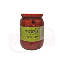 Перец красный жаренный, маринованный  720 g