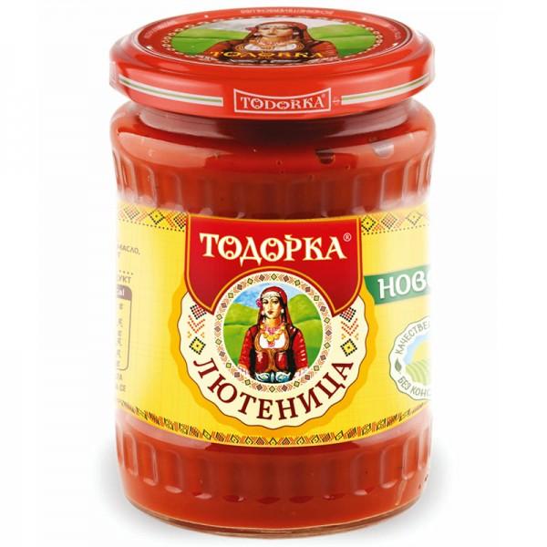 Лютеница Тодорка   575 g - Болгария