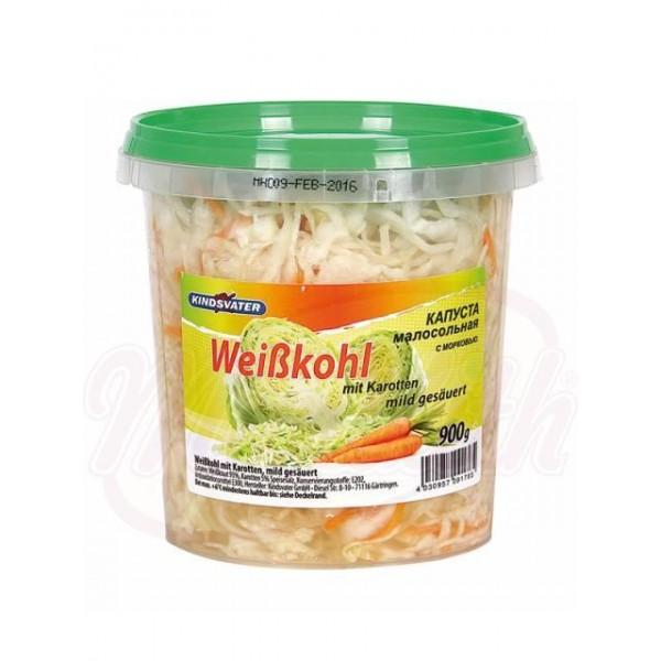 Ensalada con repollo y zanahoria 900 g - Alemania