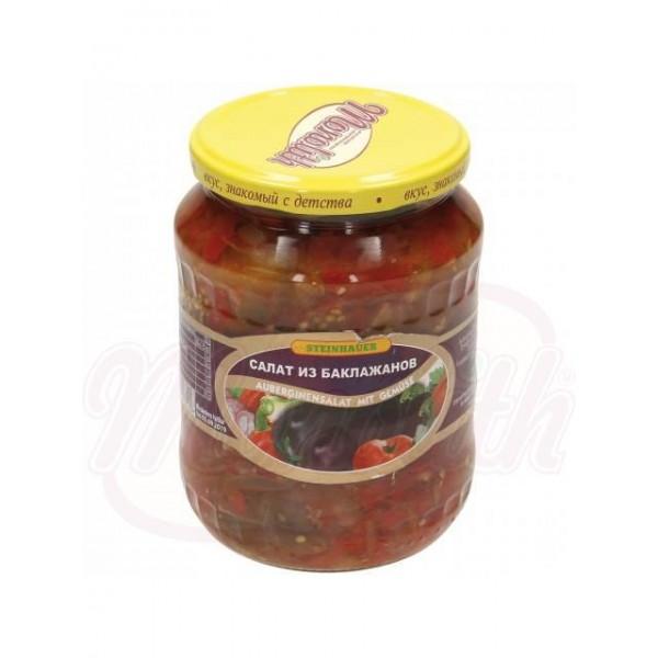Салат из баклажан с овощами 640 g - Украина