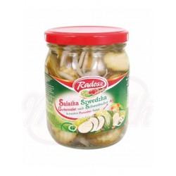 Салат из огурцов по-шведски 540 ml