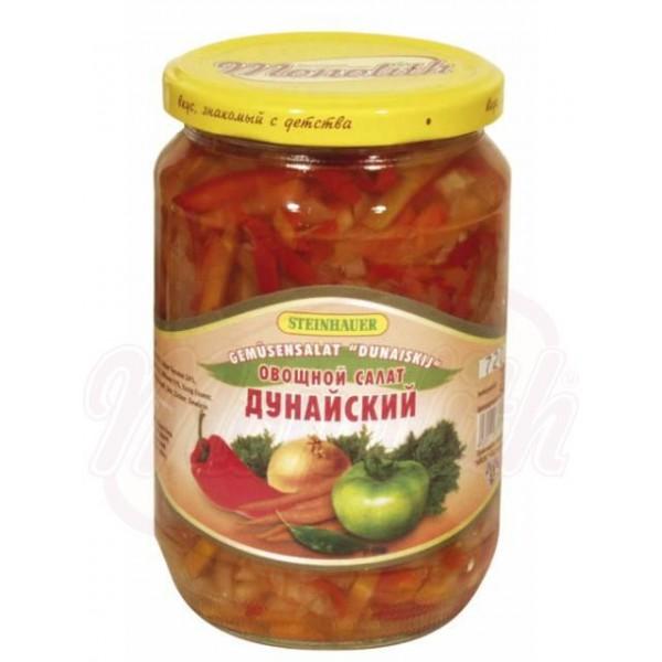 Овощной салат Дунайский 670 g - Болгария