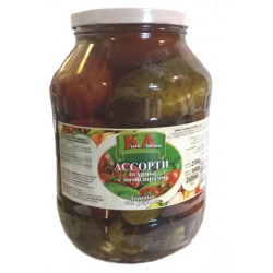 Surtido de tomates y pepinos KA 1600 g