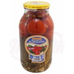 Ассорти томаты и огурцы По-Херсонски Штейнхауер 1830 g