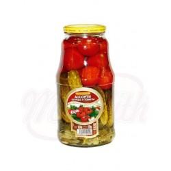 Surtido de pepinos y tomates Steinhauer