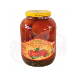 Tomates en escabeche, calientes  1450ml