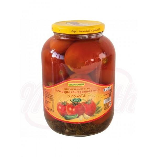 Tomates en escabeche, calientes  1450ml - Bulgaria