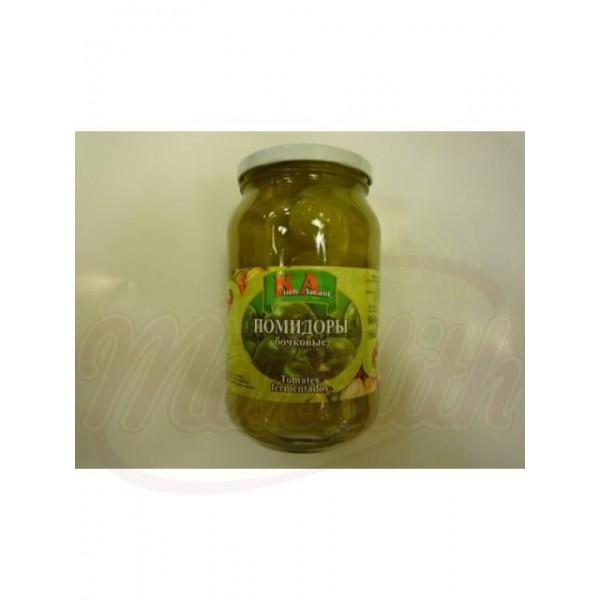 Tomates verdes de barril KA 860 g - Polonia