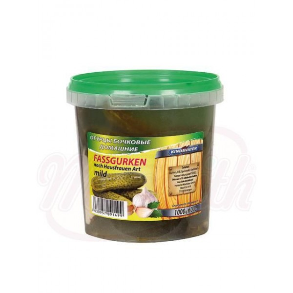 Бочковые огурцы 600 kg - Овощи