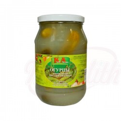 """Pepinos fermentados pasteurizados """"KA"""" 1550g"""