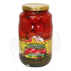 "Surtido de tomates y pepinos ""Na pososhok"""