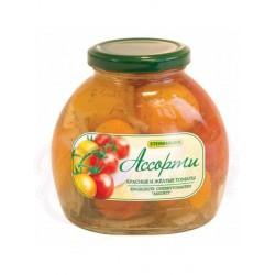 Surtido tomates rojos y amarillos 530g.
