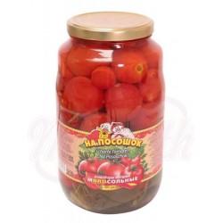 Консервированные помидоры На Посощок, пряные 2650мл.