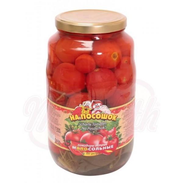 Консервированные помидоры На Посощок, пряные 2650мл. - Македония