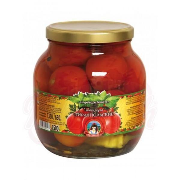 "Tomates conservados ""Tiraspolskije"" - Macedonia"