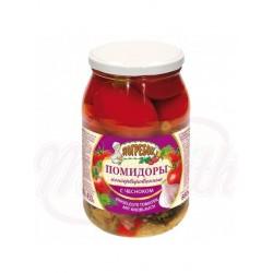 Tomates en vinagre con ajo