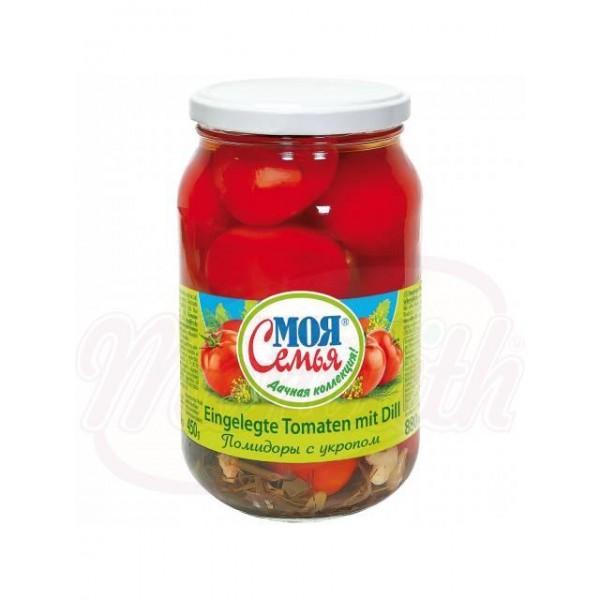 Маринованные помидоры с укропом - Польша