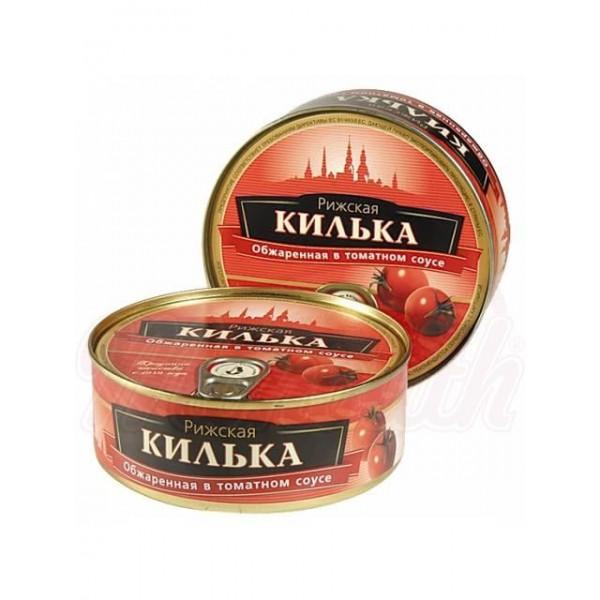 Килька в томатном соусе 240g - Латвия