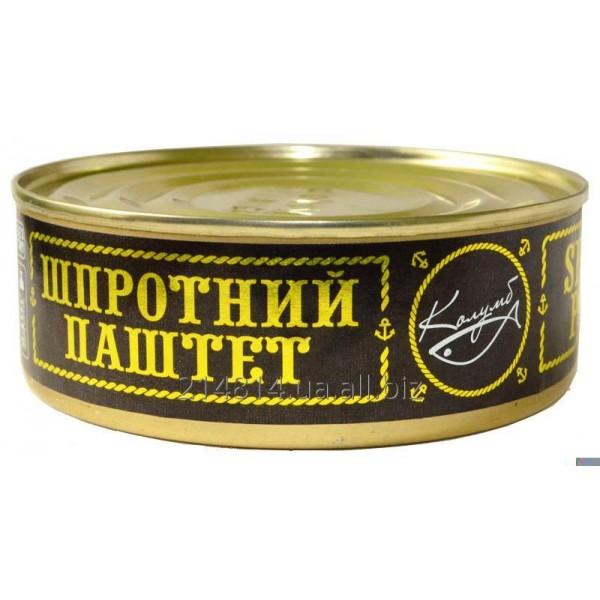 Шпротный паштет 160g - Латвия