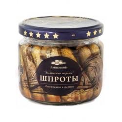 Espadines ahumados en aceite vegetal 250g