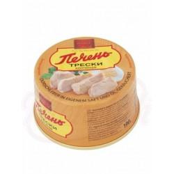 Печень трески копченая 190 g