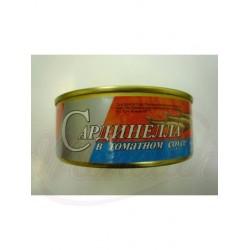Sardinillas en salsa de tomate  240 g