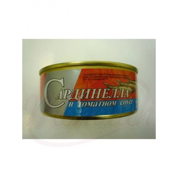 Сардинелла в томатном соусе  240 g - Латвия