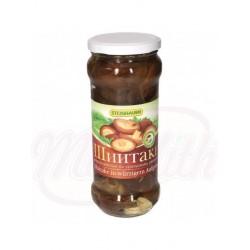 Setas zhiitaki marinados según la receta de Ural 530g.