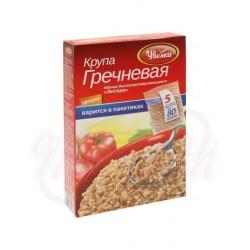 Alforfón de rápida preparación, en bolsas de cocción Uvelka  400 g