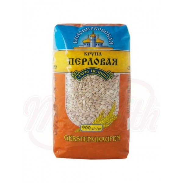 Cebada perlada Belozerkowskaja 900 g - Ucrania