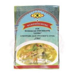 Mezcla de especias para la sopa de pescado russa Ucha 50g