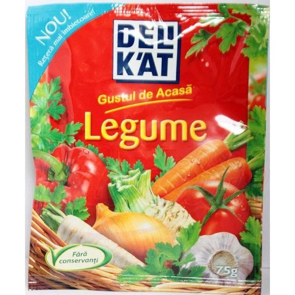 Приправа овощная Delikat 75 g - Румыния