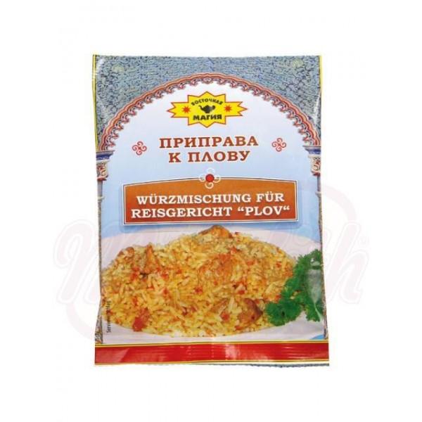 Condimento para arroz 40 g - Lituania