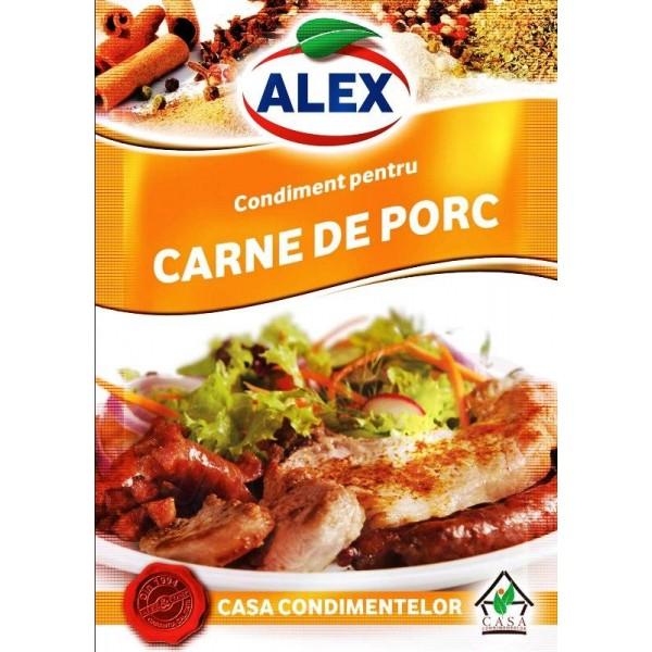 Condimento para carne de cerdo  18 g - Rumanía