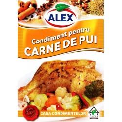 Condimento para carne de pollo   18 g