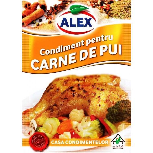 Condimento para carne de pollo   18 g - Rumanía