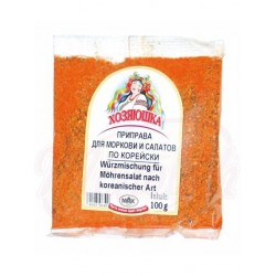 Condimento coreano para zanahoria y ensaladas picante 100 g