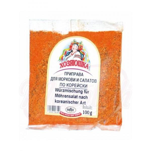 Приправа для моркови и салатов по-корейски по-корейски 100 g - Германия