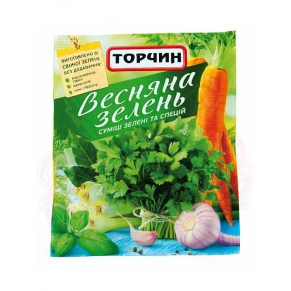 Condimento universal Vesnyana Zelen 25g - Ucrania