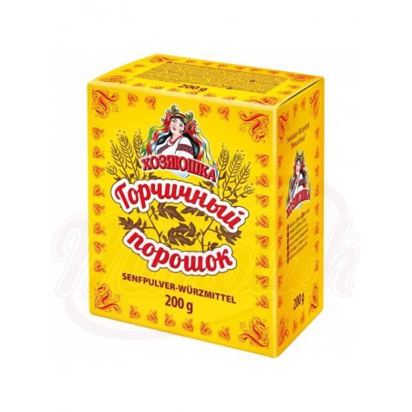 Mostaza en polvo 200 g - Ucrania