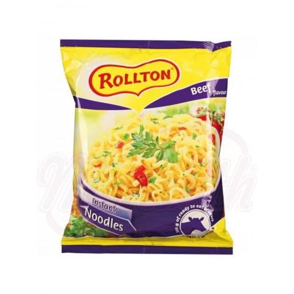 Fideos Rollton  rápida preparación sabor ternera 60 g - Ucrania