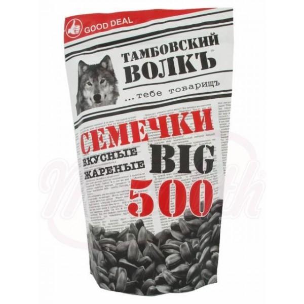 Семечки жареные  Тамбовский Волкъ 500 g - Россия