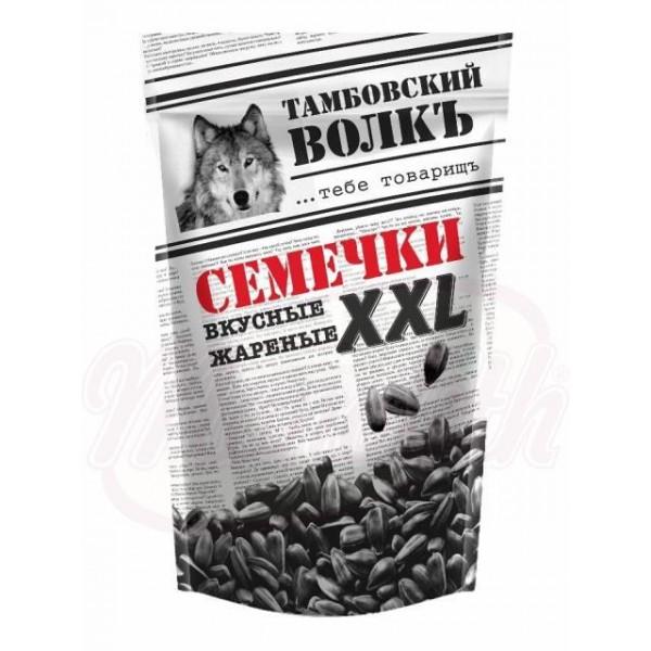 Pipas de girasol  Tambovskij volk  XXL tostadas negras con cascara 400 g - Rusia